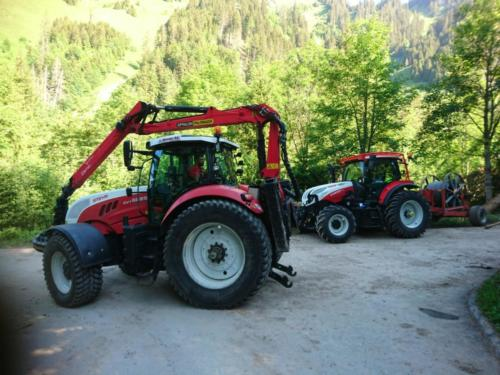 Tracteur Steyr CVT 6225