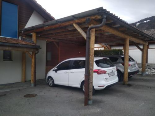 Couvert à voitures