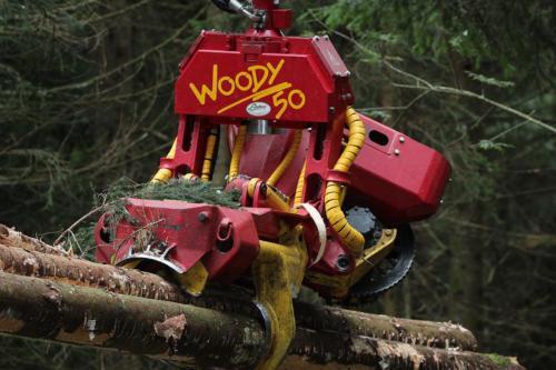 Menzi Muck M540 / Woody 50