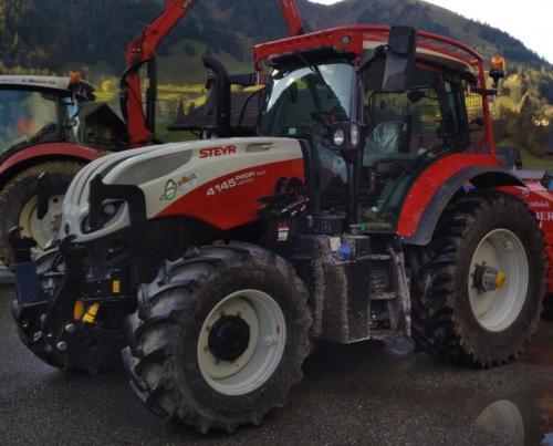 Tracteur Steyr Profi 4145 CVX
